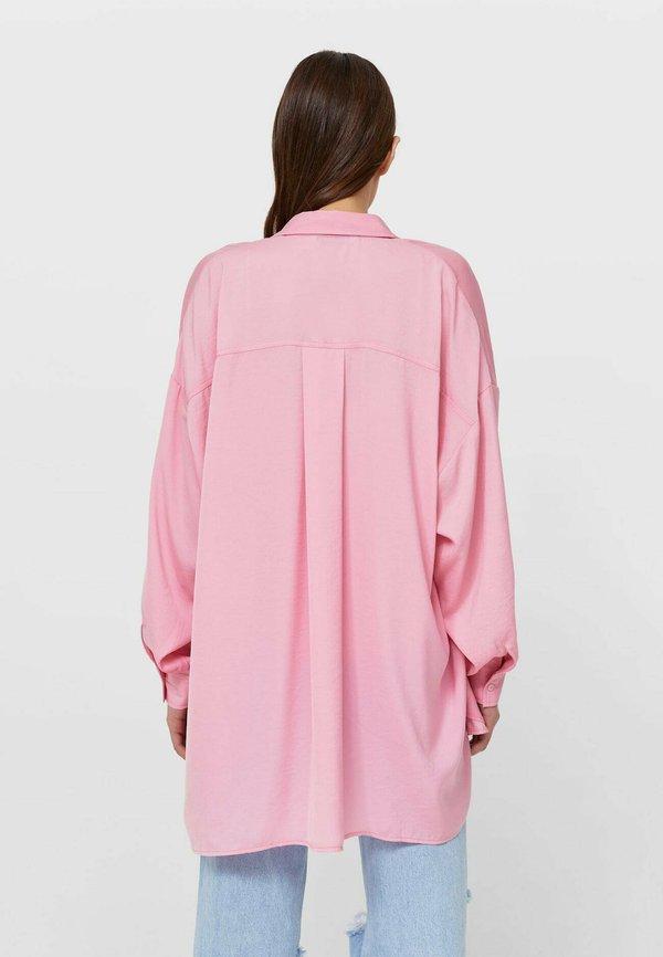 Stradivarius Koszula - neon pink/rÓżowy neon DJHQ