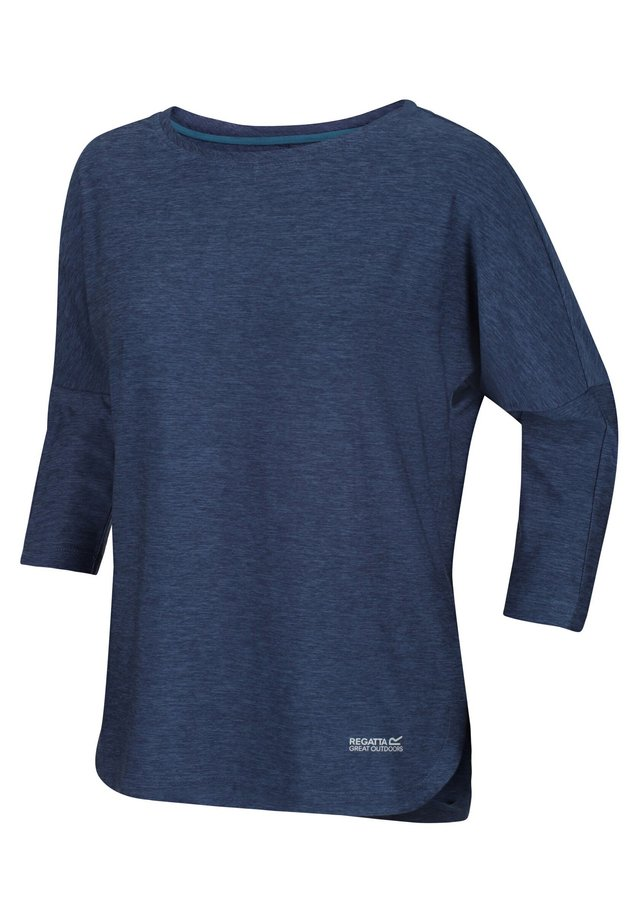 PULSER WANDER - Long sleeved top - dark denim
