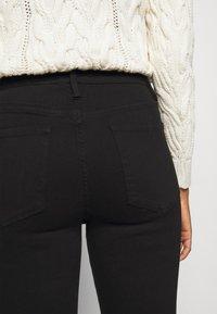 Frame Denim - ALI HIGH RISE SKINNY - Jeans Skinny - noir - 4