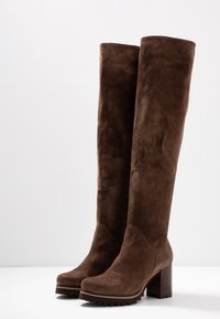 Weekend by Pedro Miralles - Over-the-knee boots - tortora - 4