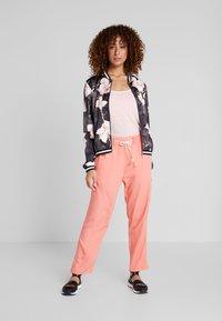 Luhta - HANDBY - Trousers - pink - 1