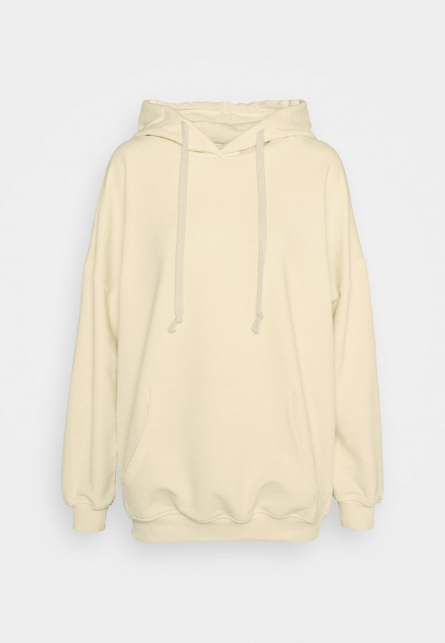 K&K  OVERSIZED SWEATER - Hættetrøjer - off white