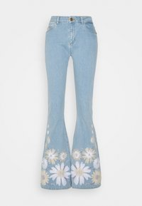 Fabienne Chapot - EVA EXTRA FLARE EMBRO  - Flared Jeans - light denim - 5