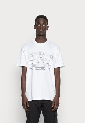 COLLEGE TEE - T-shirt con stampa - white