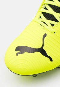 Puma - FUTURE Z 4.1 FG/AG - Moulded stud football boots - yellow alert/black/white - 5
