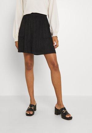 VICHOOSE SKIRT - Mini skirt - black