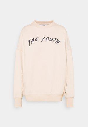 YOUTHCOLLAGECREWNECK - Sweatshirt - nude