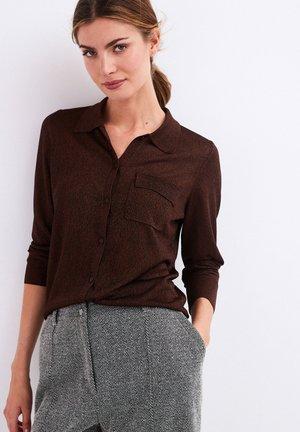 Košile - dark brown