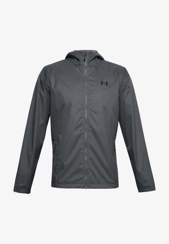 Waterproof jacket - grau