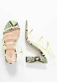 Call it Spring - IMPRESSA - High heeled sandals - light green - 3