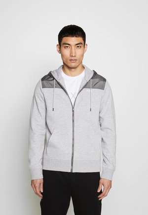 LOGO  - Zip-up hoodie - heather grey