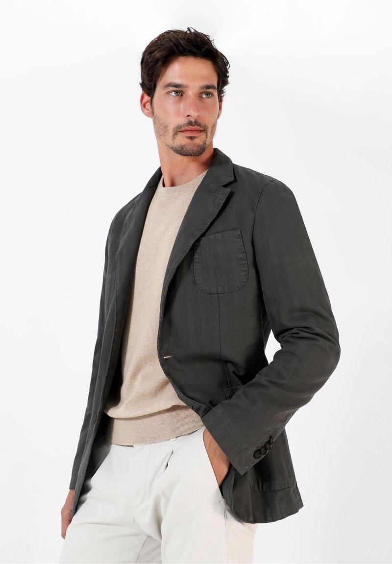 Scalpers - Blazer jacket - dark khaki