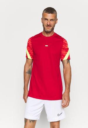 STRIKE  - Sports shirt - gym red/bright crimson/volt