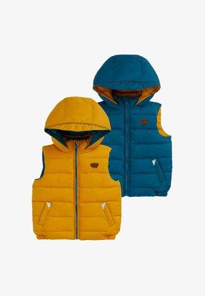 ECOREVERSIBLE - Waistcoat - yellow
