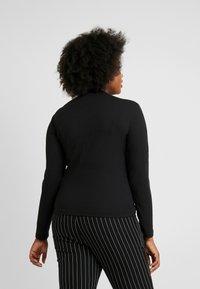 Cotton On Curve - MOCK NECK LONG SLEEVE - Jumper - black - 2