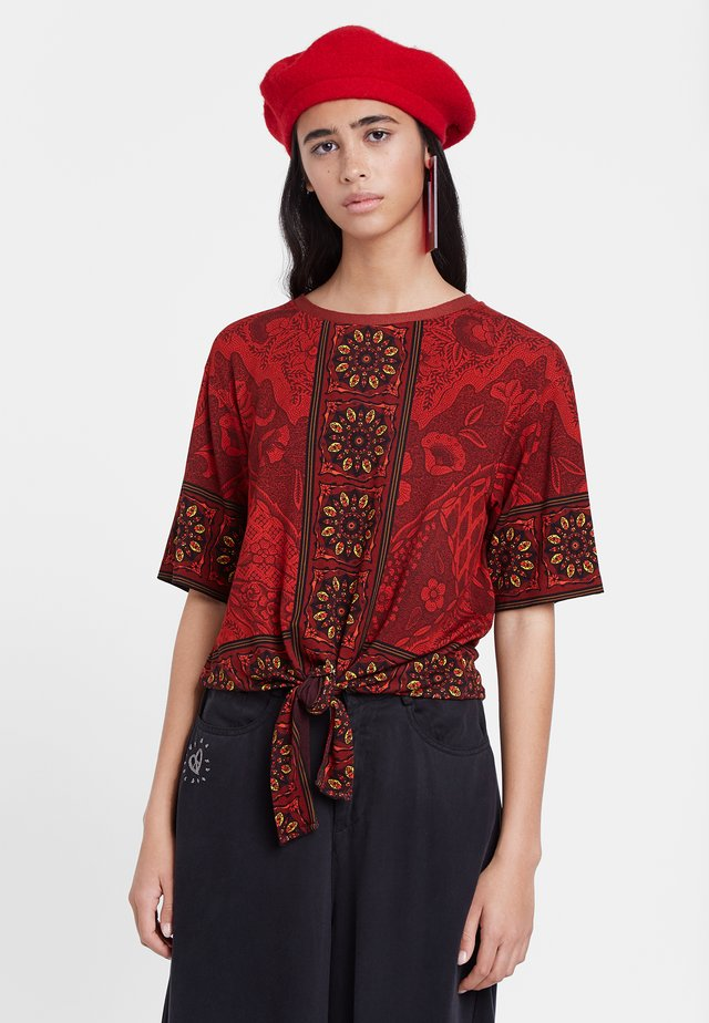 ILLINOIS - Blouse - red