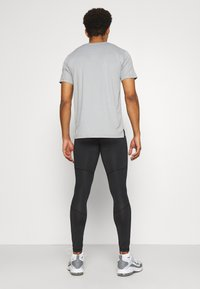 4F - Men's training leggings - Leggings - black - 2