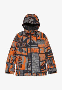 Quiksilver - MISSION - Snowboard jacket - pureed pumpkin isere point - 3