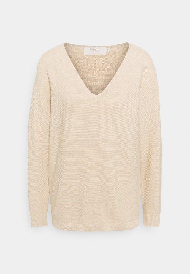CRSILLAR  - Sweter - sesame melange