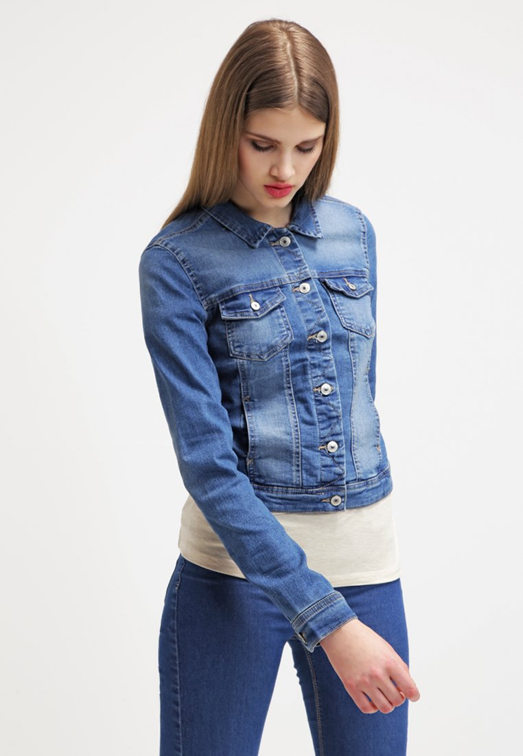 ONLY - ONLNEW WESTA - Kurtka jeansowa - medium blue denim