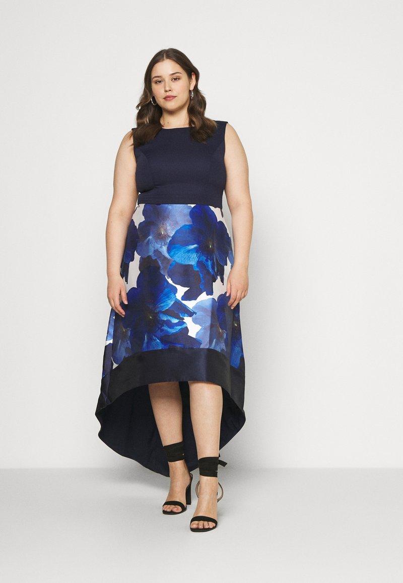 Chi Chi London Curvy - BRAY DRESS - Occasion wear - navy
