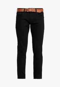 Esprit - Džíny Straight Fit - BLACK RINSE - 4