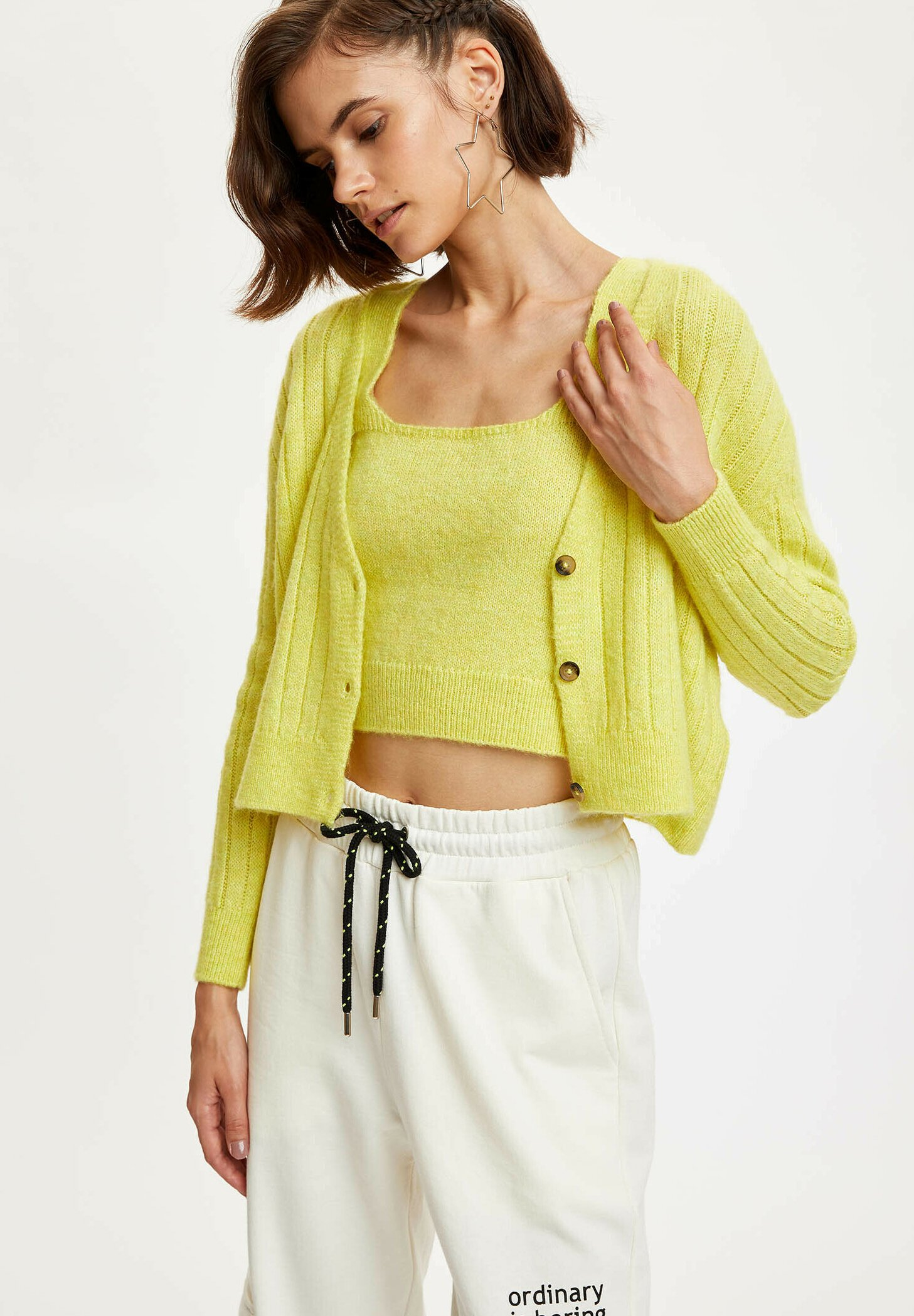 Donna CROPPED - Cardigan