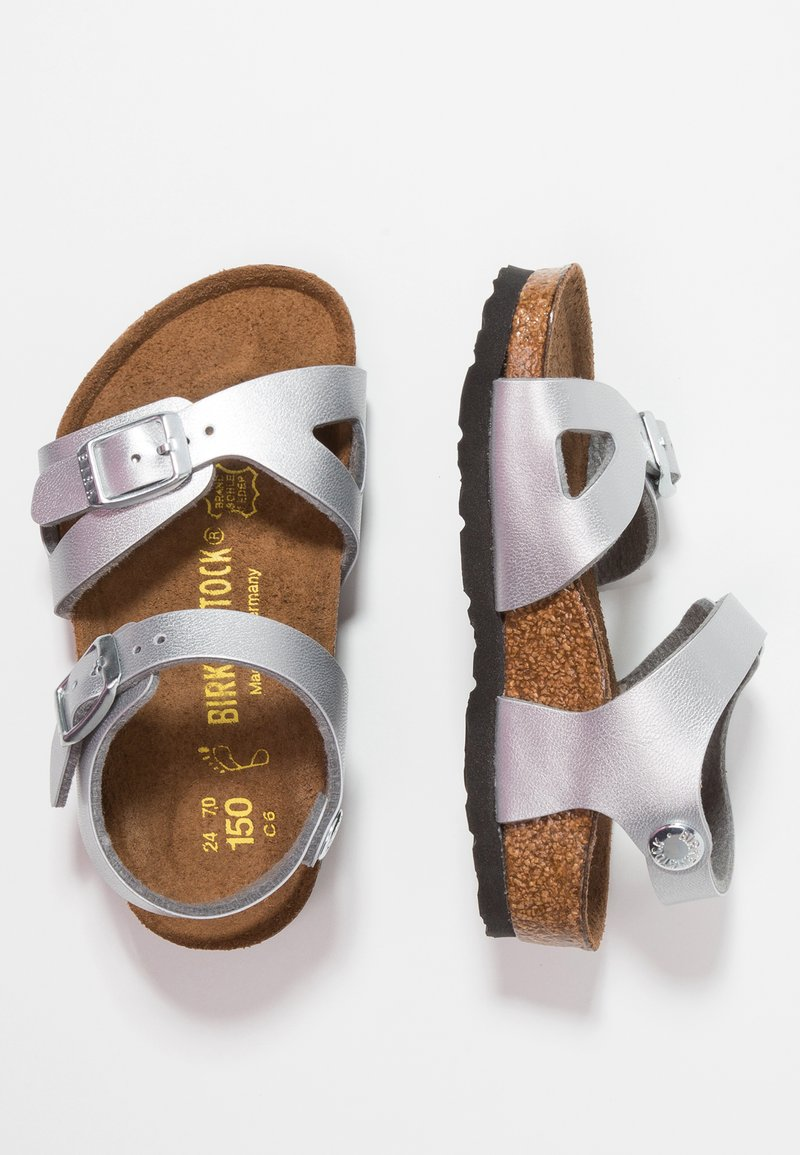 Birkenstock - RIO KIDS - Sandals - silber