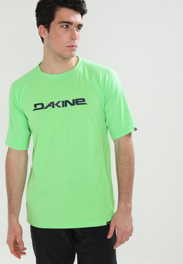 RAIL - T-shirt z nadrukiem - summer green