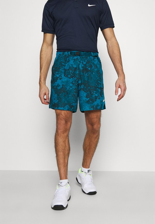 SLAM SHORT - Sports shorts - green abyss/black/white