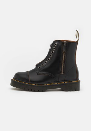 1460 LL BEX 8 EYE BOOT UNISEX - Korte laarzen - black