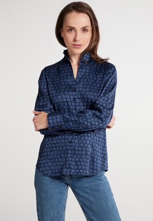 MODERN FIT - Button-down blouse - marine