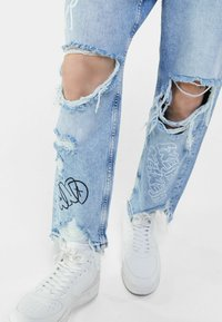 Bershka - Jean boyfriend - light blue - 3