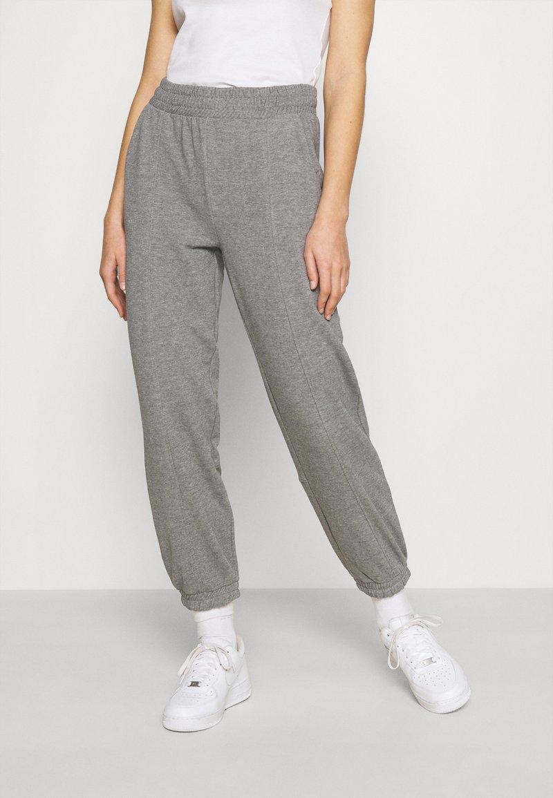 ONLY - ONLDEA DETAIL PANTS  - Tracksuit bottoms - medium grey melange