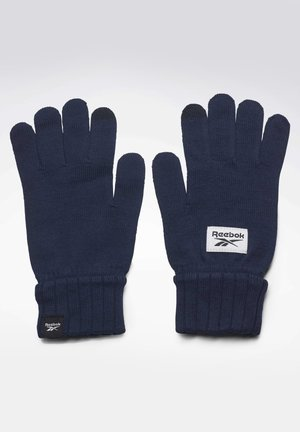 ACTIVE FOUNDATION KNIT GLOVES - Guantes - blue