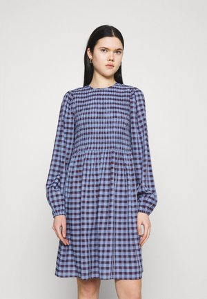YASBLUMA SMOCK DRESS - Day dress - country blue
