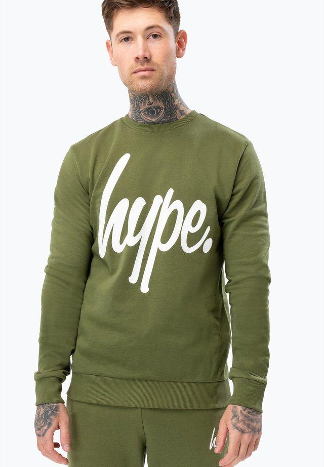Sweatshirts - khaki