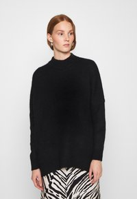 Selected Femme - SLFLULU ENICA  - Jumper - black - 0