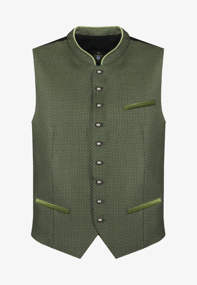 Suit waistcoat - grün