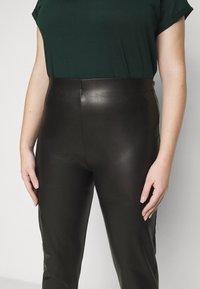 Dorothy Perkins Curve - CURVE  - Leggings - Trousers - black - 4