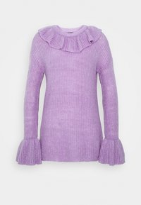 Who What Wear - RUFFLE - Jumper - lavender - 4