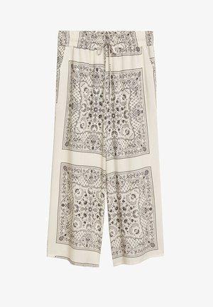 BANDANA - Trousers - off white