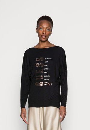 SEPHORA TEE - Maglietta a manica lunga - jet black