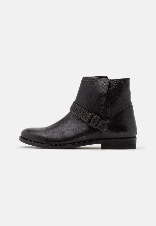TENEXY - Classic ankle boots - dark brown