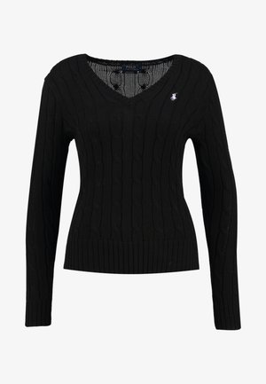 KIMBERLY - Svetr - polo black