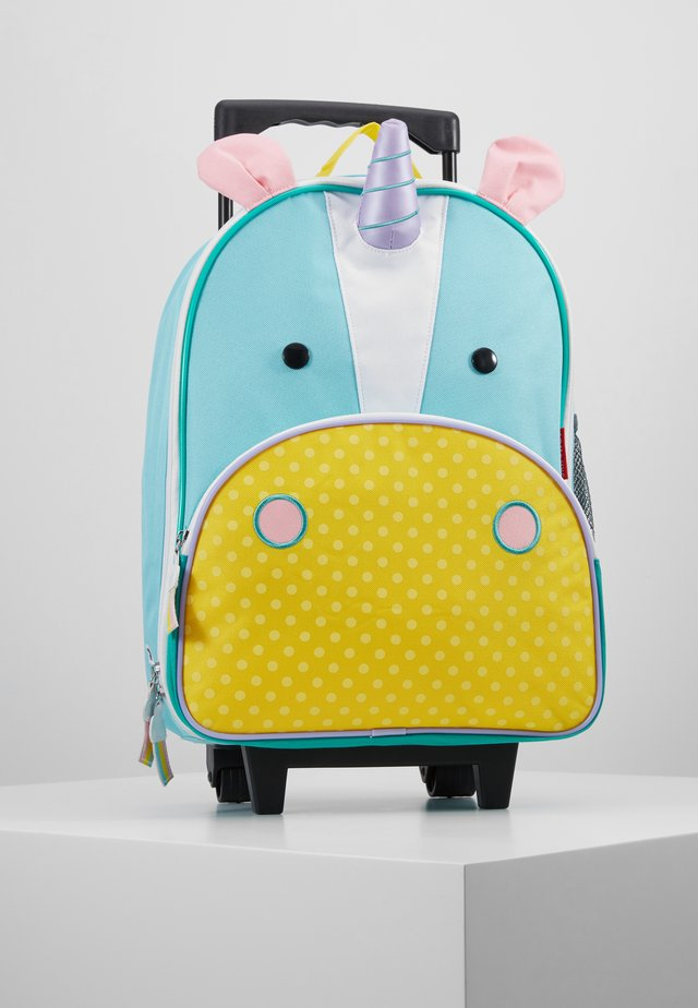 ZOO UNICORN - Wheeled suitcase - blue