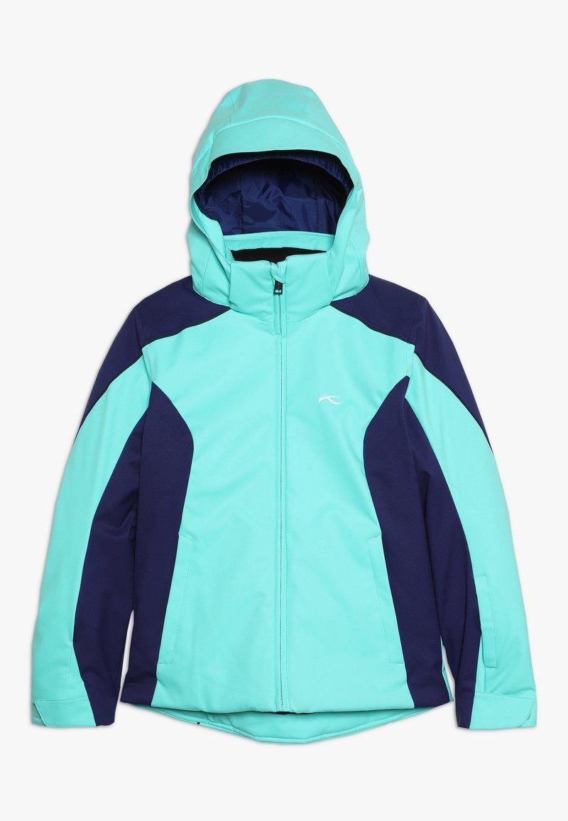 Kjus - GIRLS FORMULA JACKET - Ski jacket - myst sea/into blue
