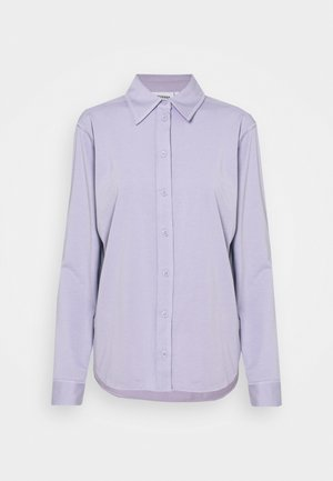 JANNIKE SHIRT - Button-down blouse - dusty purple