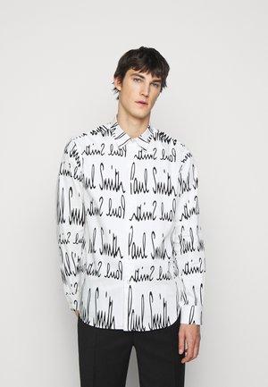 GENTS TAILORED  - Shirt - white/black
