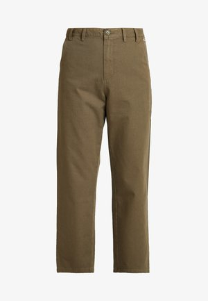 HIGH RISE PANT - Trousers - capers